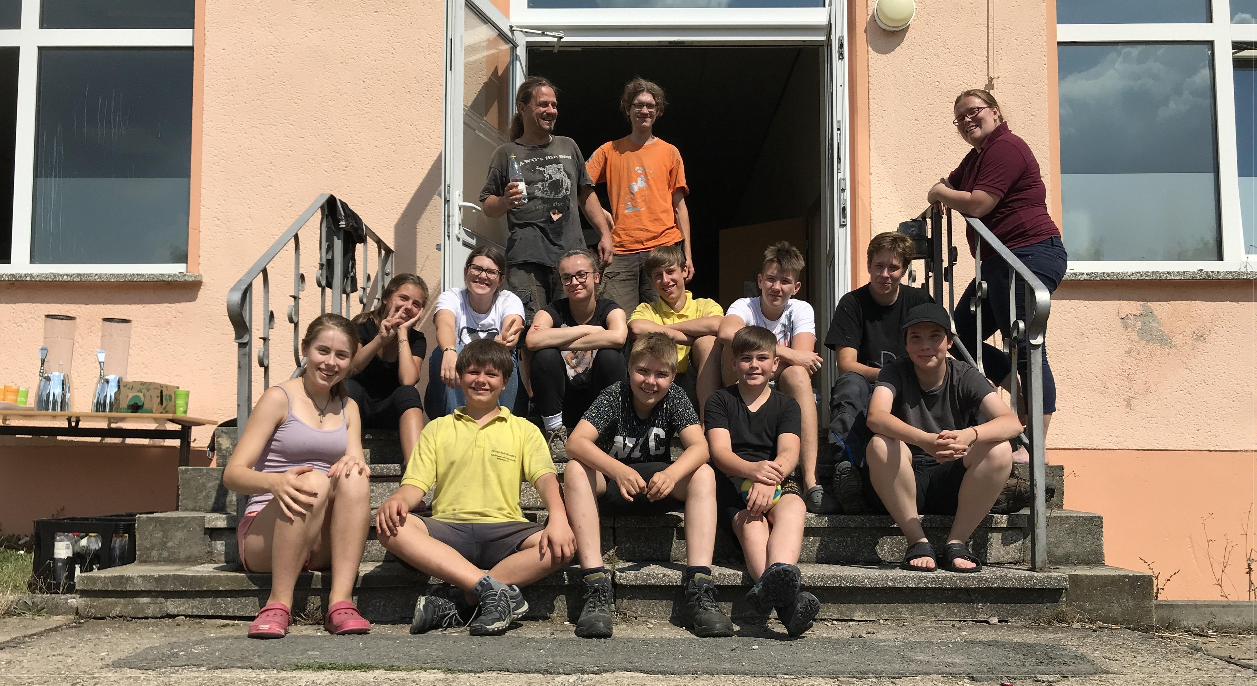 Jetzt Geschichte: WorkCamp August 2020 in Mutzschen!